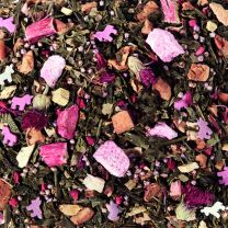 Raspberry/Rhubarb/Candy Floss - Groene Thee - China - 100 gram