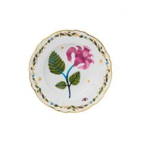 Bitossi Home Funky Table Soepbord - Pink Flower - Ø 23 cm - Porselein